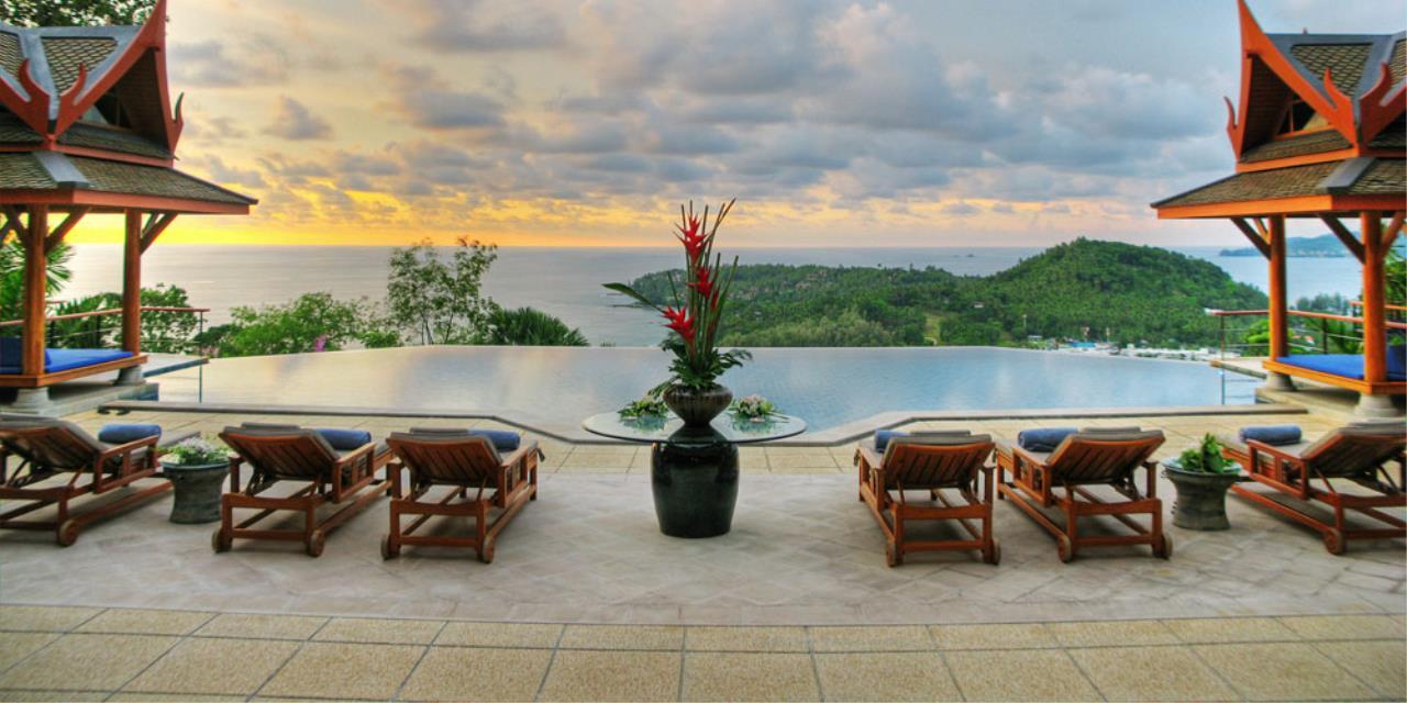 REAL Phuket  Agency's Rak Tawan - Awesome 6-Bedroom Ocean View Villa on Surin Hill 4