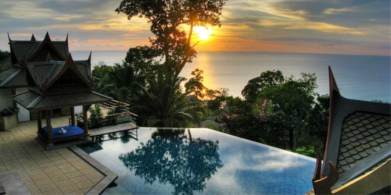 REAL Phuket  Agency's Rak Tawan - Awesome 6-Bedroom Ocean View Villa on Surin Hill 5