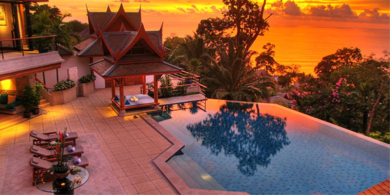 REAL Phuket  Agency's Rak Tawan - Awesome 6-Bedroom Ocean View Villa on Surin Hill 6