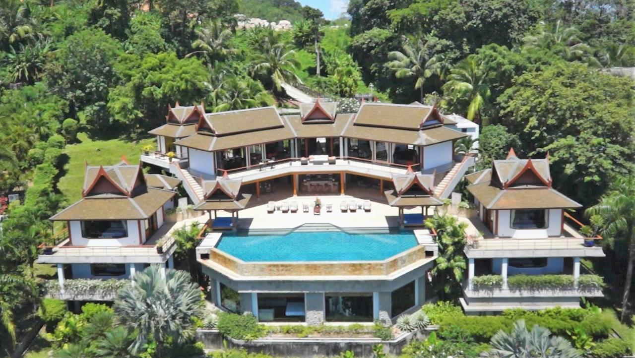 REAL Phuket  Agency's Rak Tawan - Awesome 6-Bedroom Ocean View Villa on Surin Hill 1