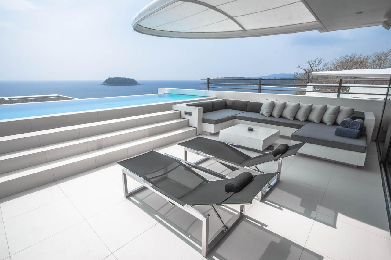 REAL Phuket  Agency's Kata Rocks - Award-winning 3-Bedroom Sky Duplex Villa 1