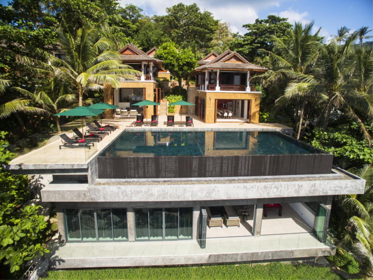 REAL Phuket  Agency's Villa Sunyata - Magnificent 8-Bedroom Oceanfront Villa in Kata 3