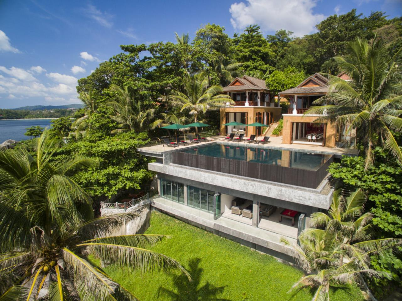 REAL Phuket  Agency's Villa Sunyata - Magnificent 8-Bedroom Oceanfront Villa in Kata 1