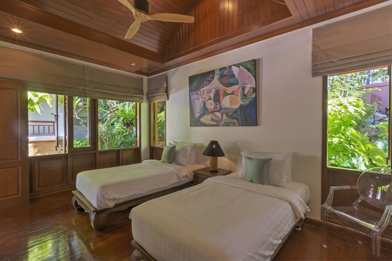 REAL Phuket  Agency's Villa Sunyata - Magnificent 8-Bedroom Oceanfront Villa in Kata 6