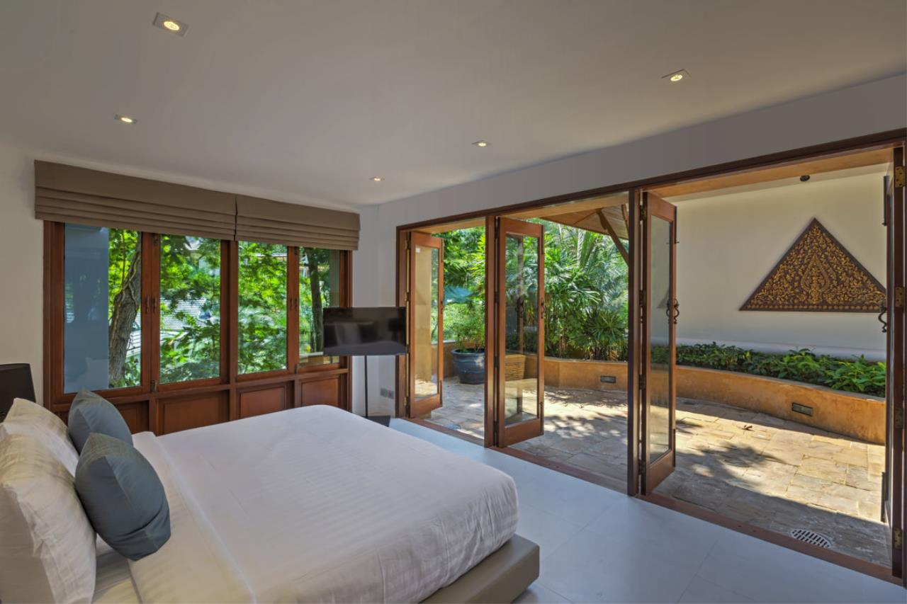 REAL Phuket  Agency's Villa Sunyata - Magnificent 8-Bedroom Oceanfront Villa in Kata 9
