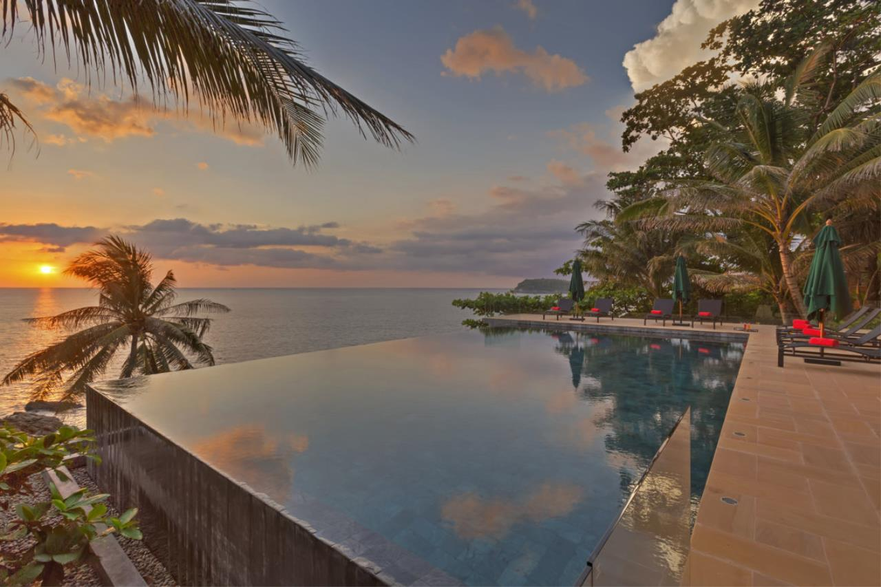REAL Phuket  Agency's Villa Sunyata - Magnificent 8-Bedroom Oceanfront Villa in Kata 14