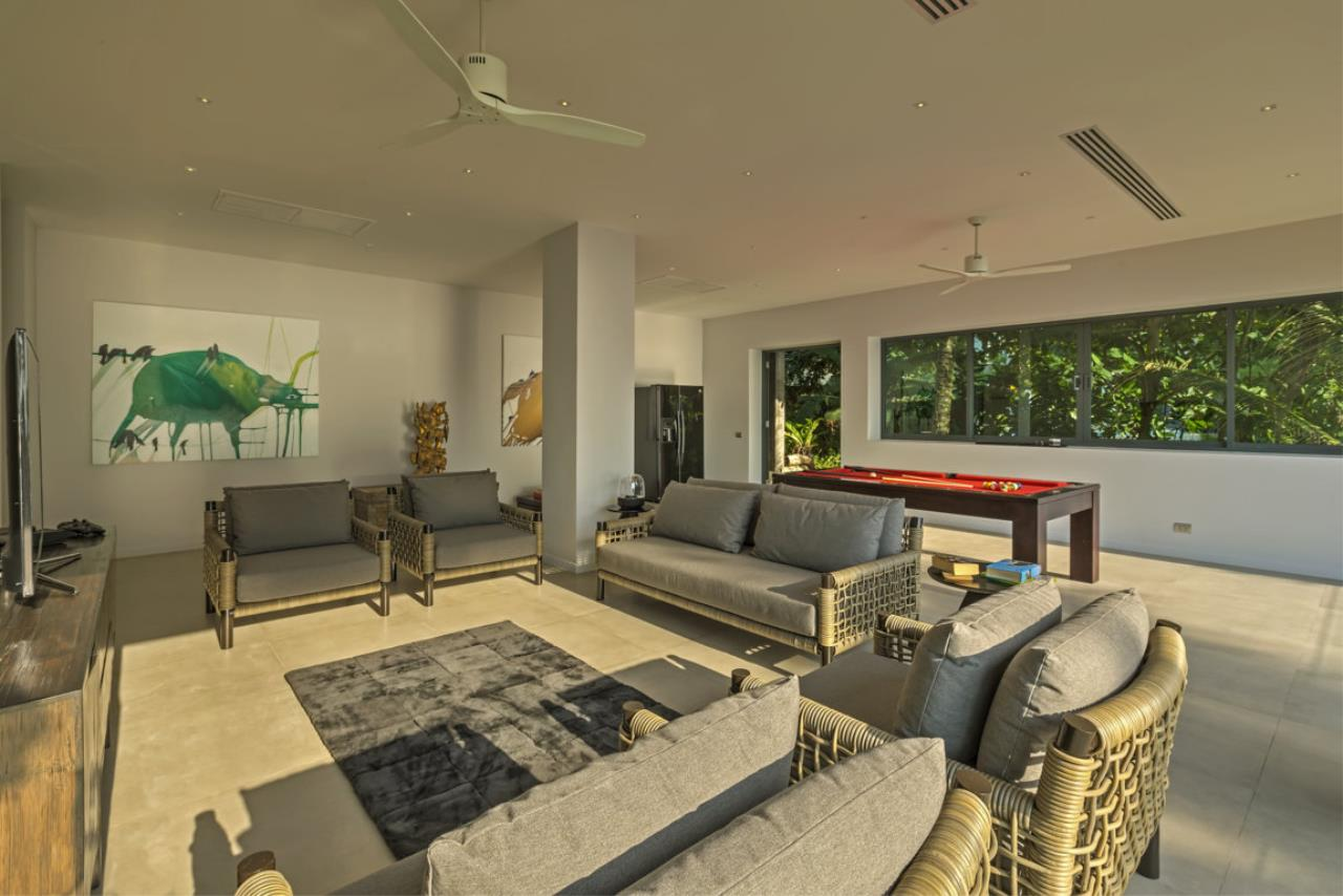 REAL Phuket  Agency's Villa Sunyata - Magnificent 8-Bedroom Oceanfront Villa in Kata 22