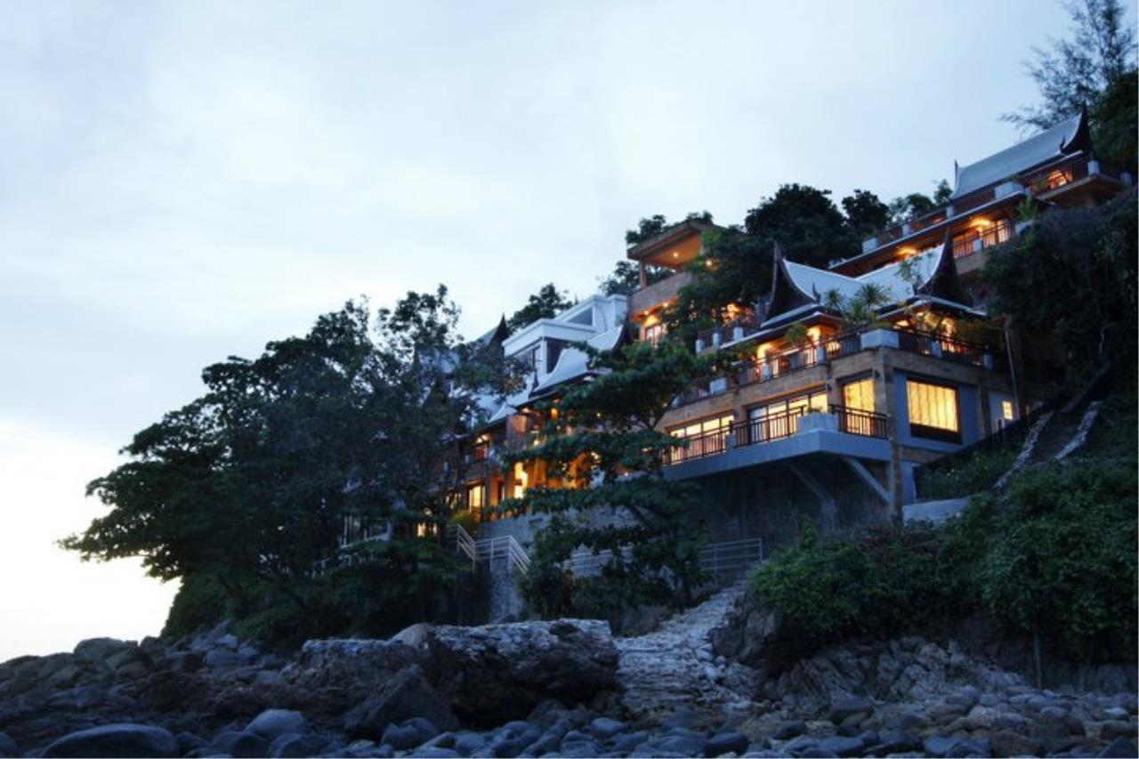 REAL Phuket  Agency's Baan Lom Talay- 6 Bedroom Seafront Villa in Kamala 3