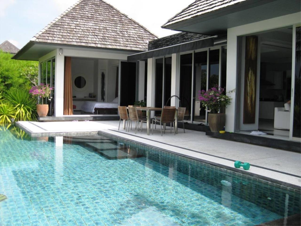 REAL Phuket  Agency's Deluxe 3-Bedroom Pool Villa Overlooking Layan Beach 35