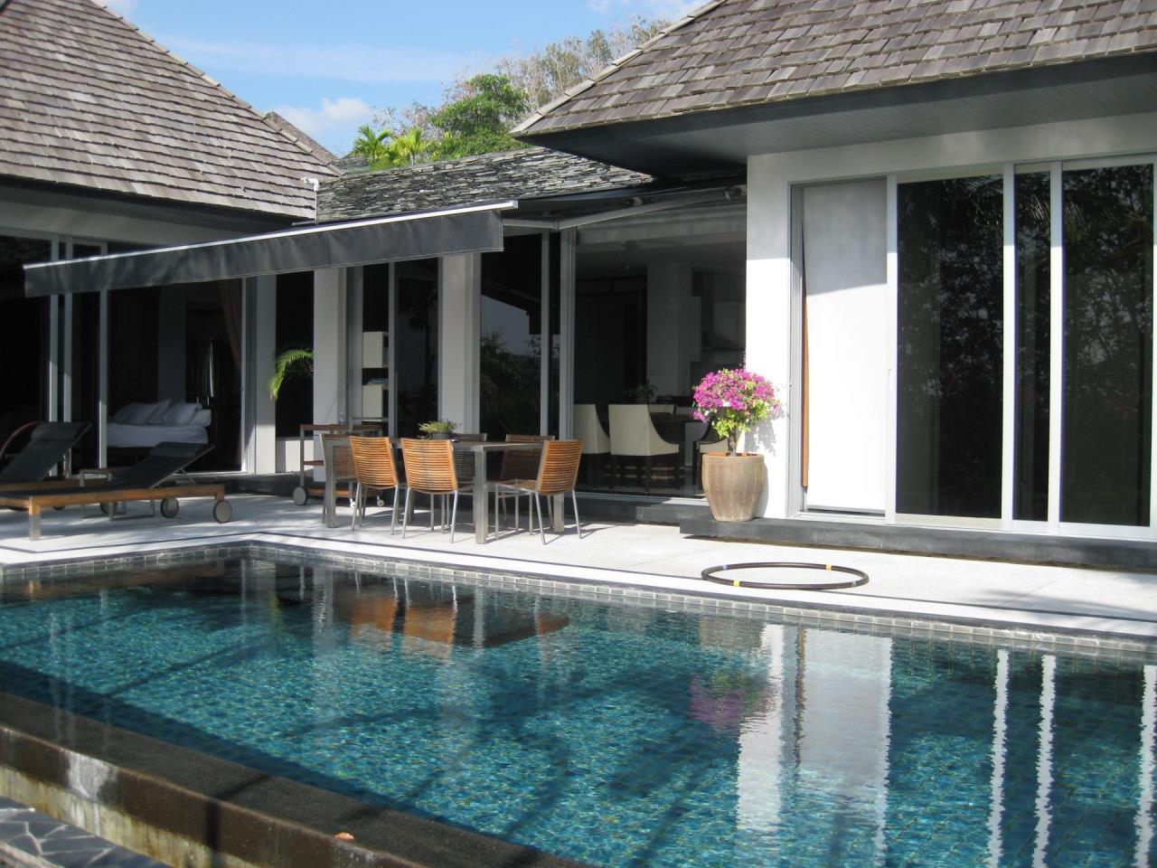 REAL Phuket  Agency's Deluxe 3-Bedroom Pool Villa Overlooking Layan Beach 47