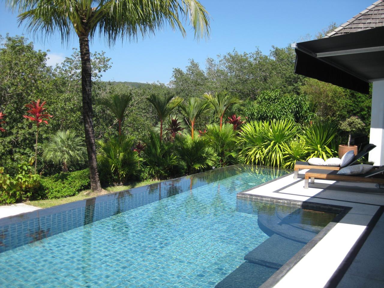 REAL Phuket  Agency's Deluxe 3-Bedroom Pool Villa Overlooking Layan Beach 27