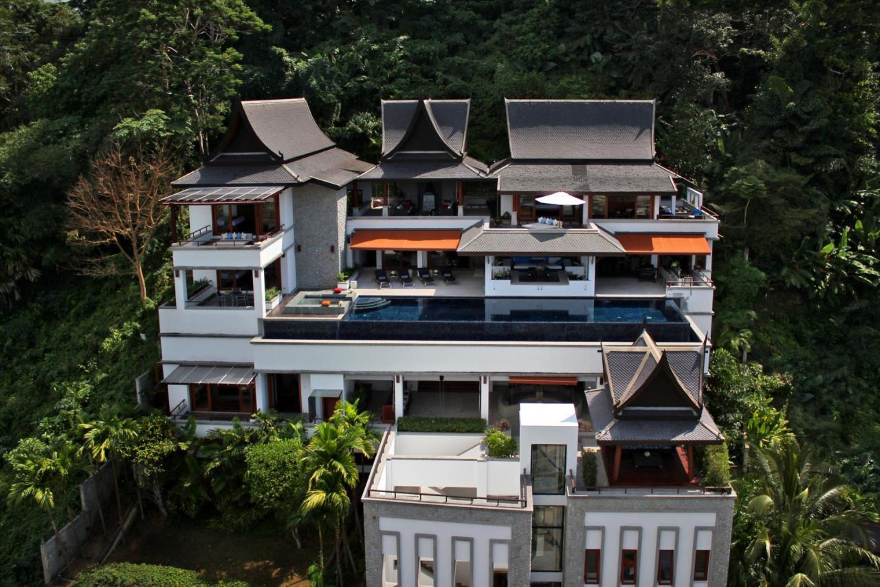 REAL Phuket  Agency's Yang Som - Breathtaking Sea View Villa overlooking Surin Bay 1