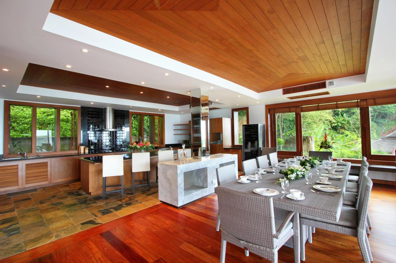 REAL Phuket  Agency's Yang Som - Breathtaking Sea View Villa overlooking Surin Bay 40