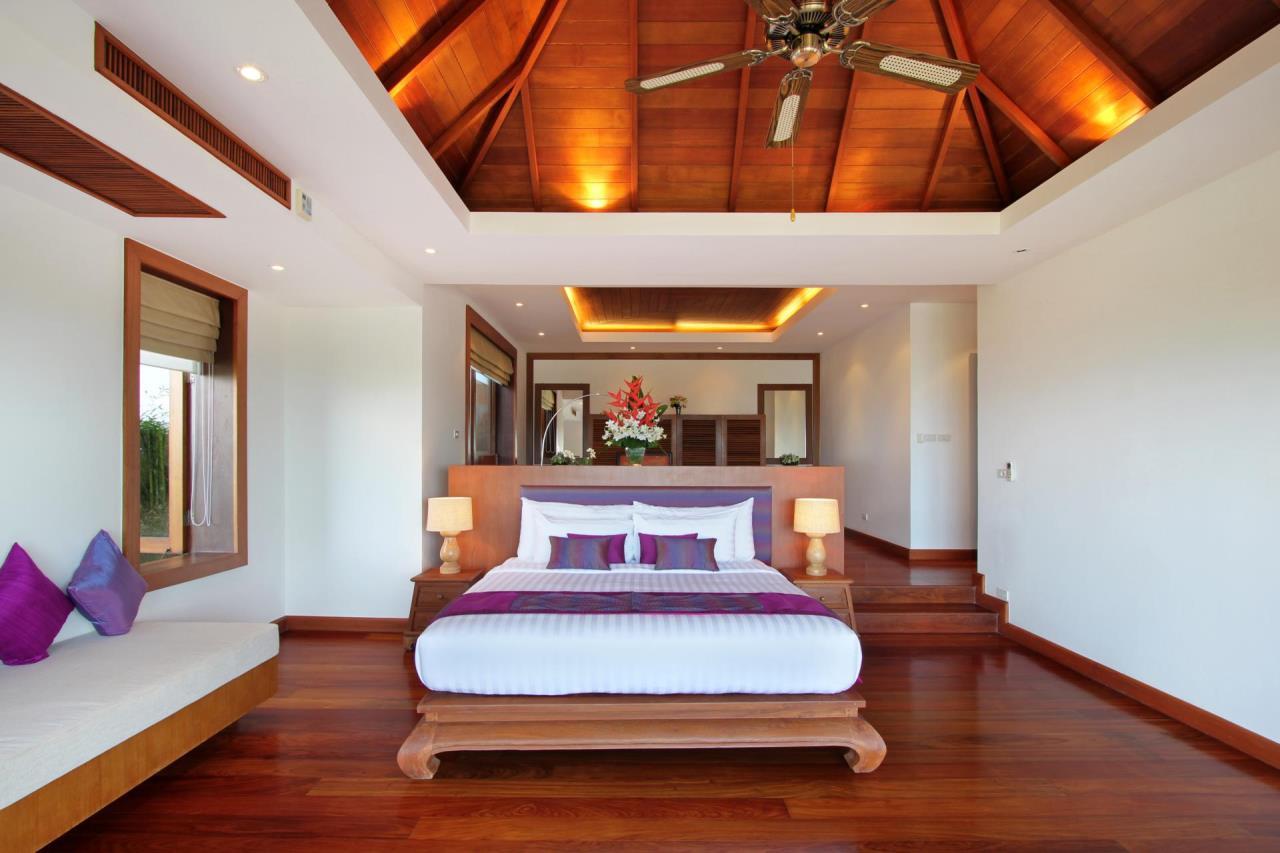 REAL Phuket  Agency's Yang Som - Breathtaking Sea View Villa overlooking Surin Bay 42