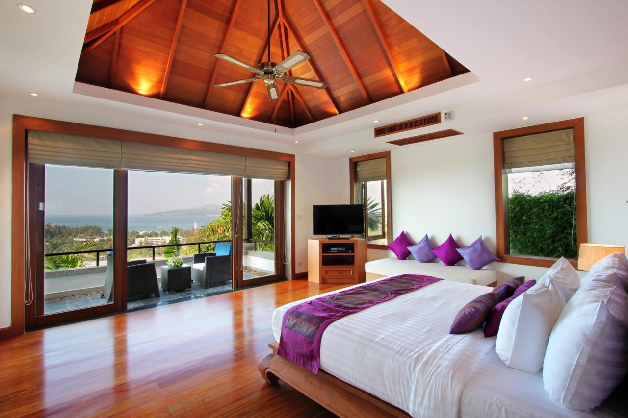 REAL Phuket  Agency's Yang Som - Breathtaking Sea View Villa overlooking Surin Bay 2