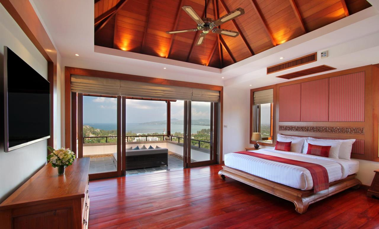REAL Phuket  Agency's Yang Som - Breathtaking Sea View Villa overlooking Surin Bay 17