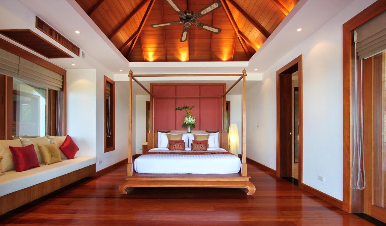 REAL Phuket  Agency's Yang Som - Breathtaking Sea View Villa overlooking Surin Bay 26