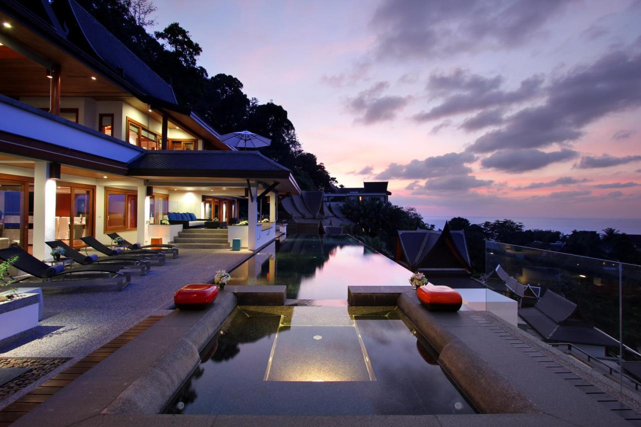 REAL Phuket  Agency's Yang Som - Breathtaking Sea View Villa overlooking Surin Bay 30