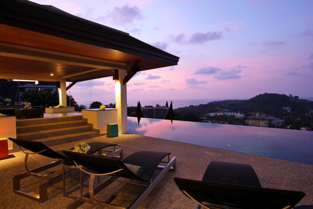 REAL Phuket  Agency's Yang Som - Breathtaking Sea View Villa overlooking Surin Bay 34