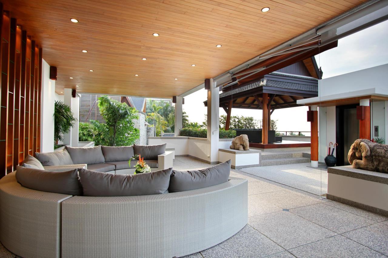 REAL Phuket  Agency's Yang Som - Breathtaking Sea View Villa overlooking Surin Bay 35