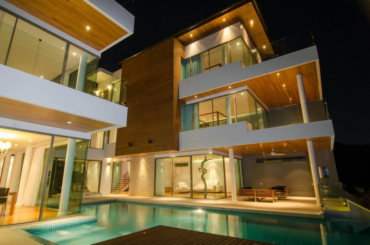 REAL Phuket  Agency's The Grand See-Through - Large 6-Bedroom Sea View Villa in Rawai 14
