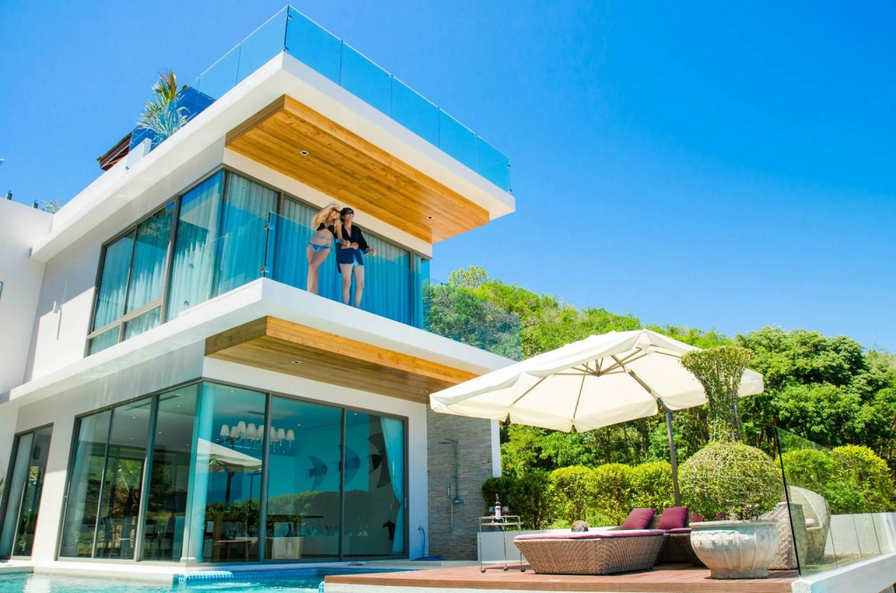 REAL Phuket  Agency's The Grand See-Through - Large 6-Bedroom Sea View Villa in Rawai 21