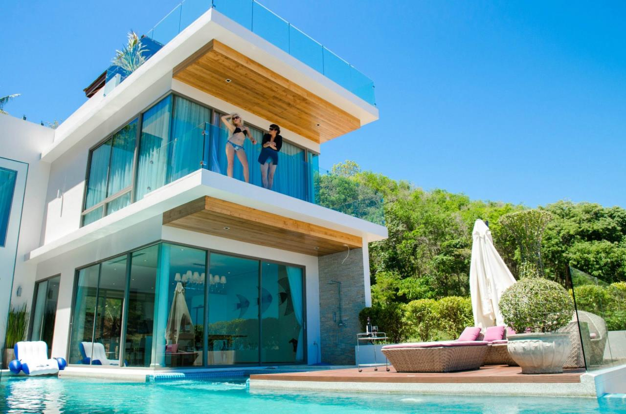 REAL Phuket  Agency's The Grand See-Through - Large 6-Bedroom Sea View Villa in Rawai 45