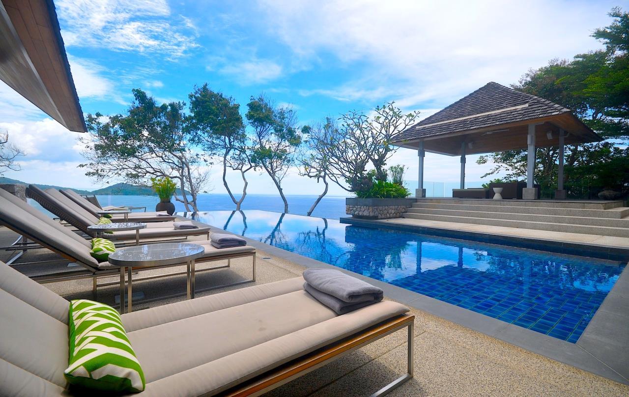 REAL Phuket  Agency's Samsara Estate - Contemporary 6-Bedroom Oceanfront Villa 1