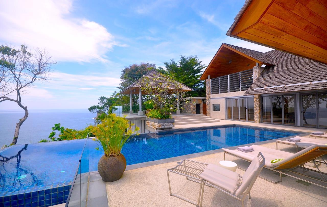 REAL Phuket  Agency's Samsara Estate - Contemporary 6-Bedroom Oceanfront Villa 2