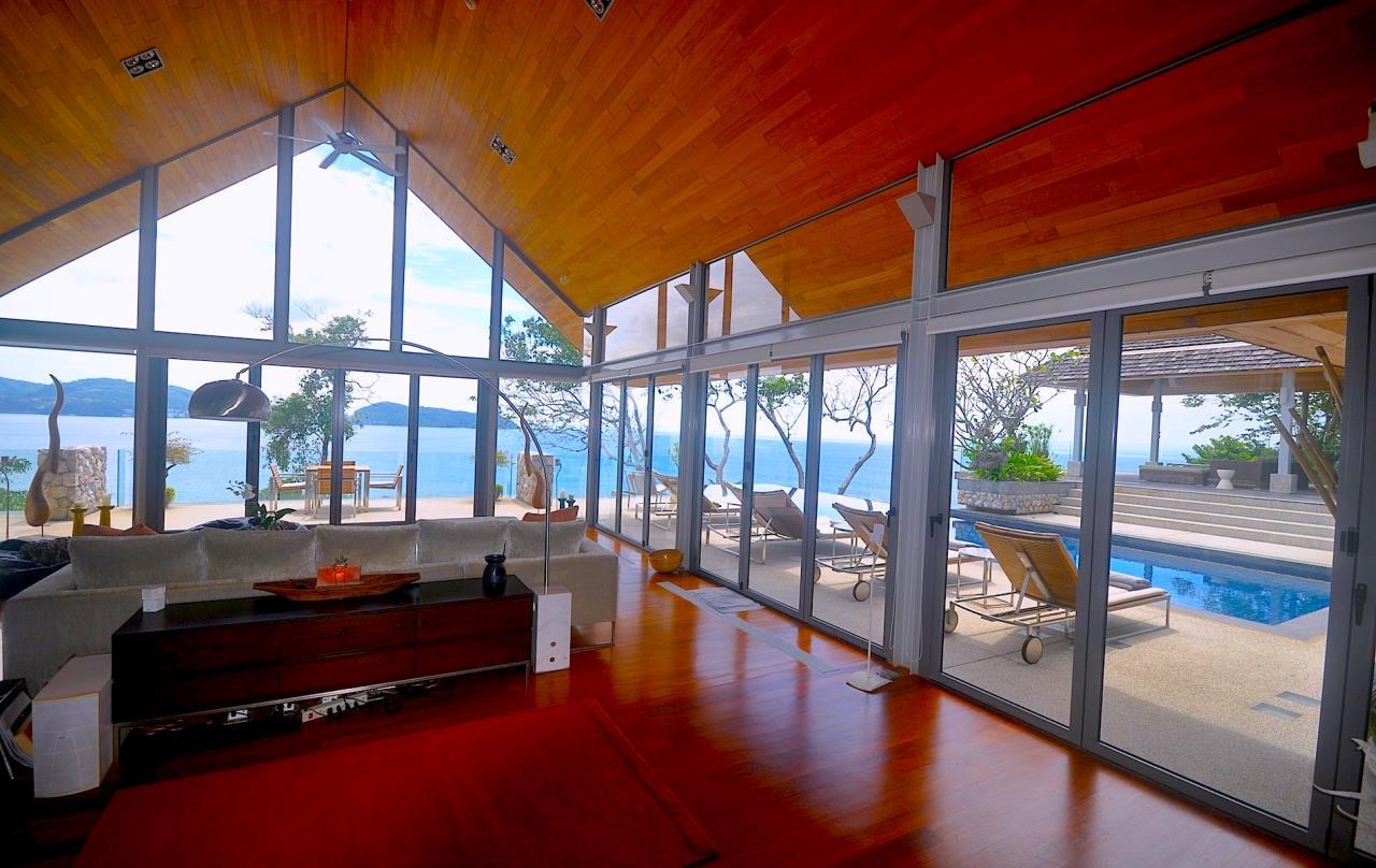 REAL Phuket  Agency's Samsara Estate - Contemporary 6-Bedroom Oceanfront Villa 9