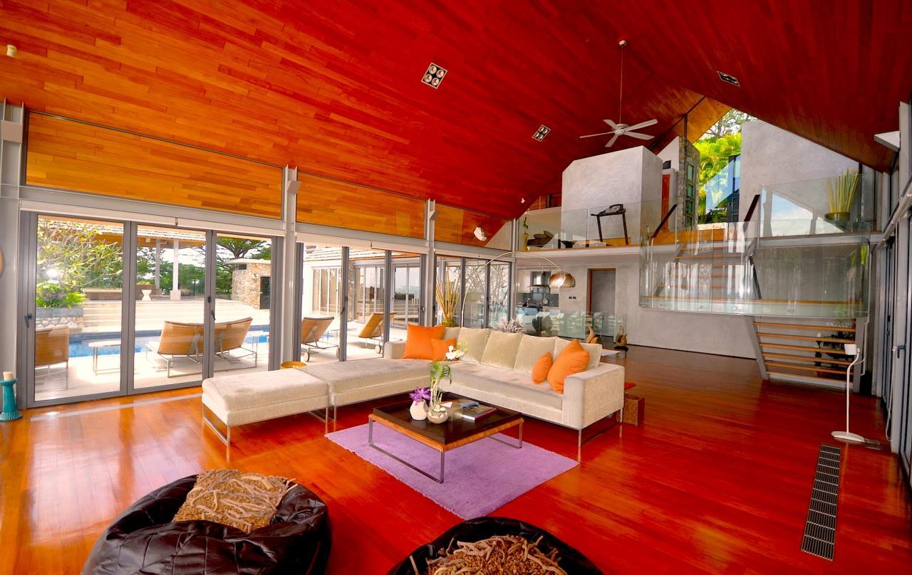 REAL Phuket  Agency's Samsara Estate - Contemporary 6-Bedroom Oceanfront Villa 10