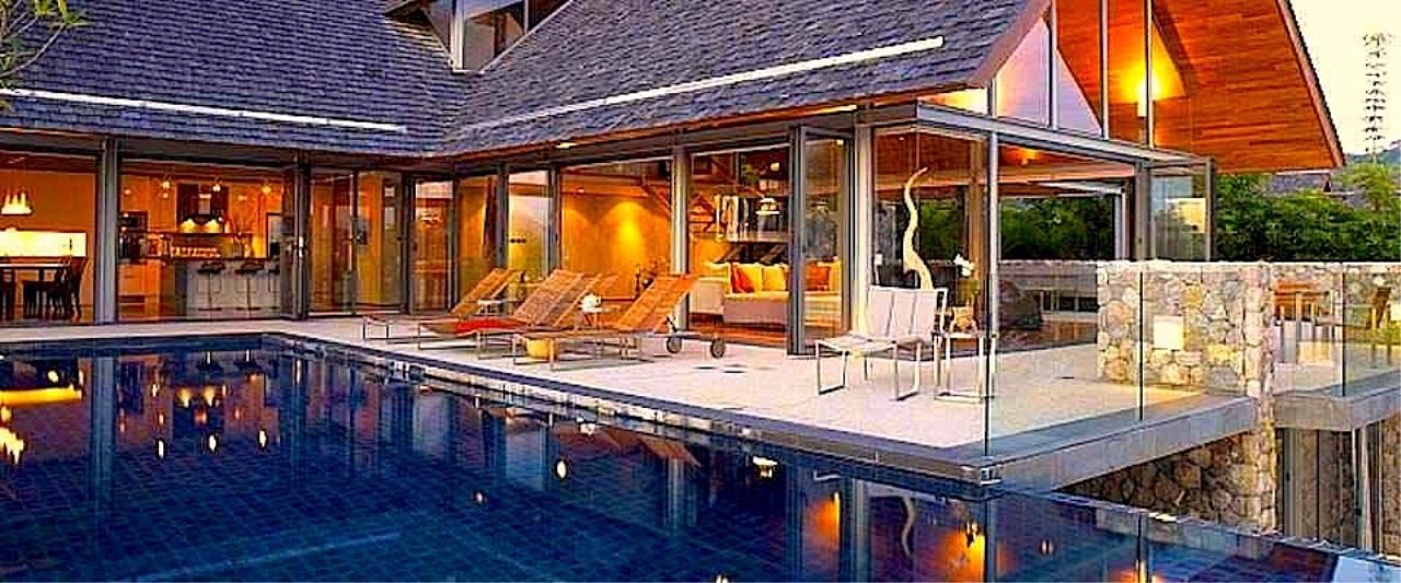 REAL Phuket  Agency's Samsara Estate - Contemporary 6-Bedroom Oceanfront Villa 16