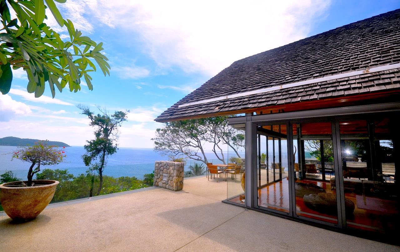 REAL Phuket  Agency's Samsara Estate - Contemporary 6-Bedroom Oceanfront Villa 49