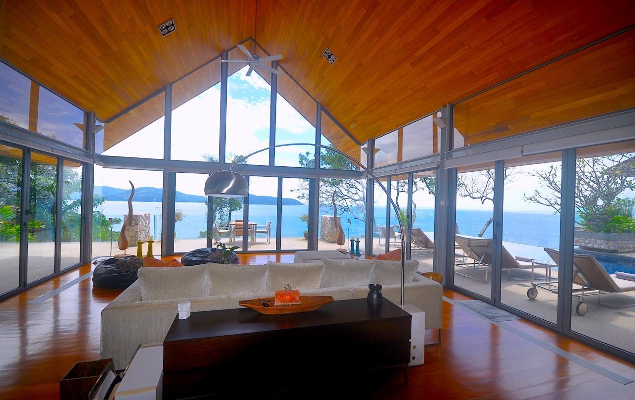 REAL Phuket  Agency's Samsara Estate - Contemporary 6-Bedroom Oceanfront Villa 52