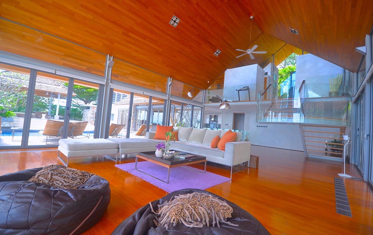REAL Phuket  Agency's Samsara Estate - Contemporary 6-Bedroom Oceanfront Villa 56