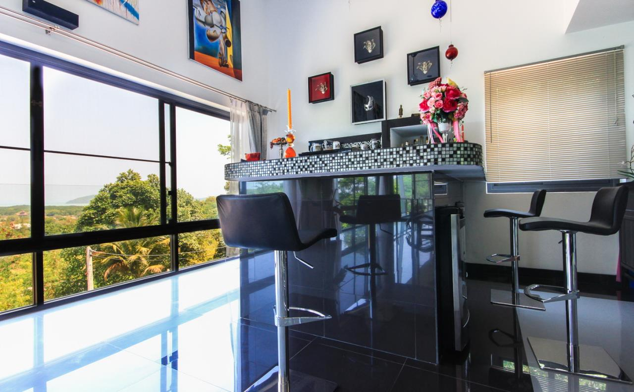 REAL Phuket  Agency's Villa FJ - Large Modern 5-Bedroom Sea View Pool Villa in Phuket Town 2