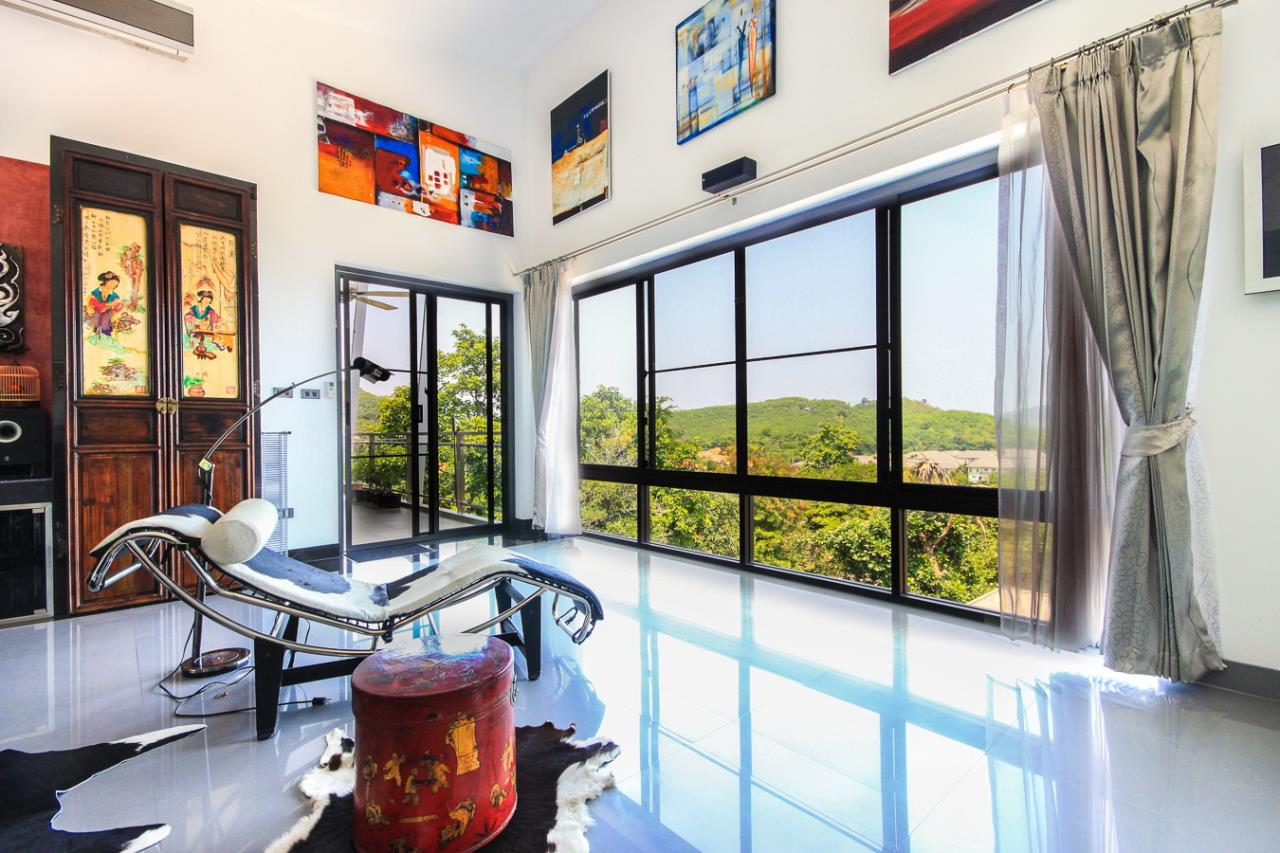 REAL Phuket  Agency's Villa FJ - Large Modern 5-Bedroom Sea View Pool Villa in Phuket Town 15
