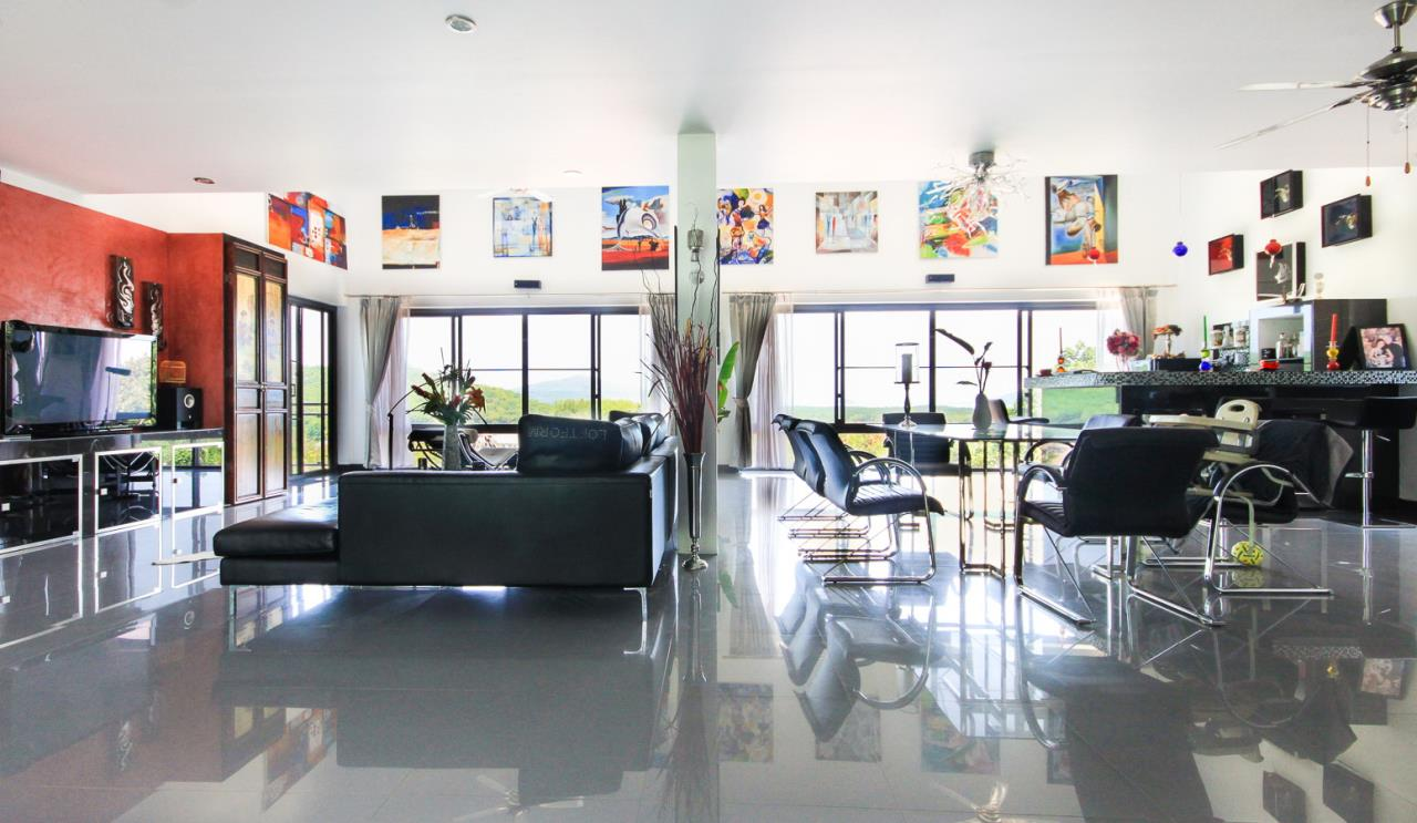 REAL Phuket  Agency's Villa FJ - Large Modern 5-Bedroom Sea View Pool Villa in Phuket Town 14