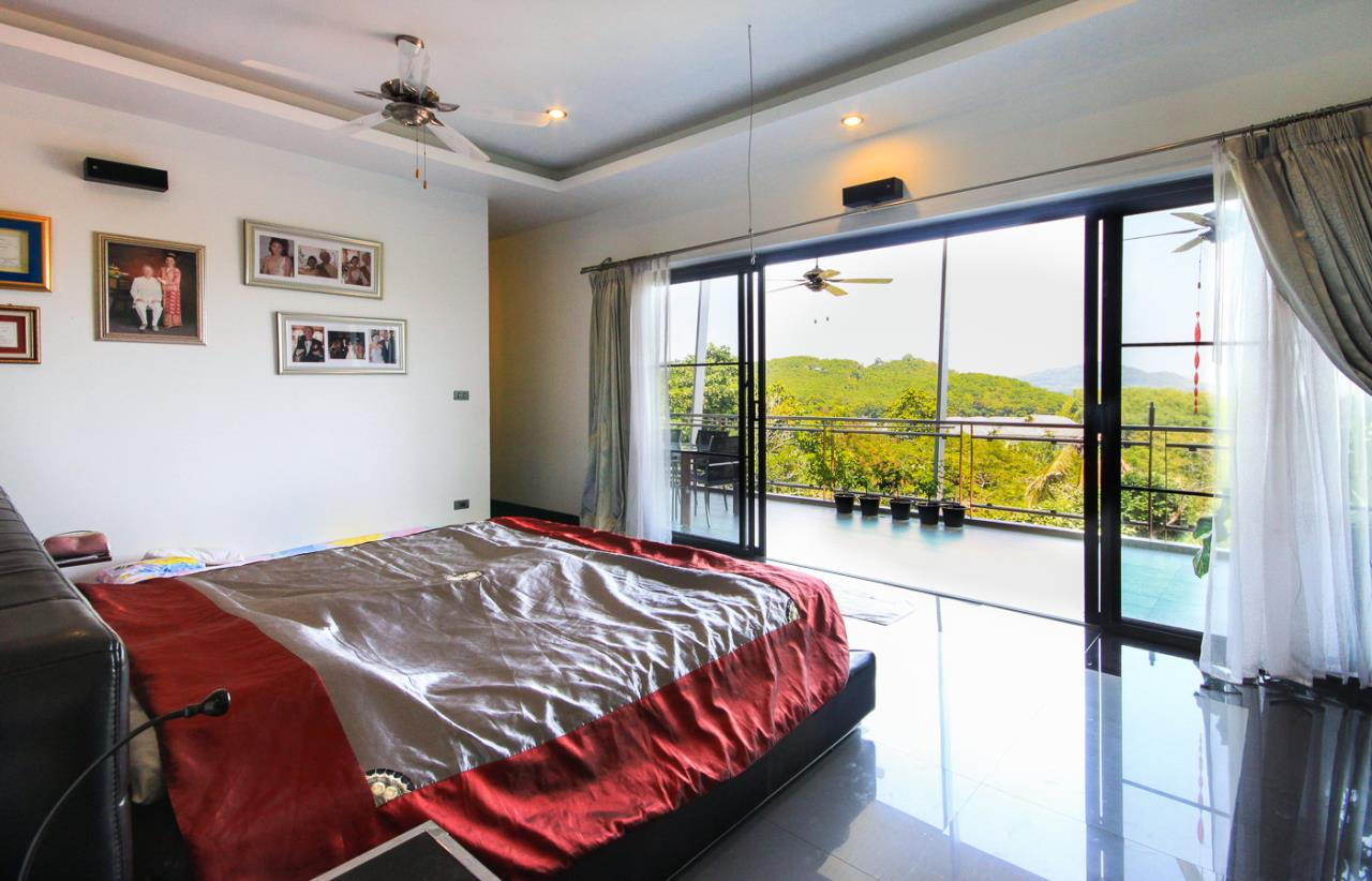 REAL Phuket  Agency's Villa FJ - Large Modern 5-Bedroom Sea View Pool Villa in Phuket Town 16