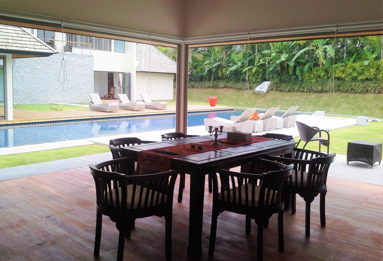 REAL Phuket  Agency's Layan Hills Estate - Superb Modern 5-Bedroom Pool Villa in Cherngtalay 14