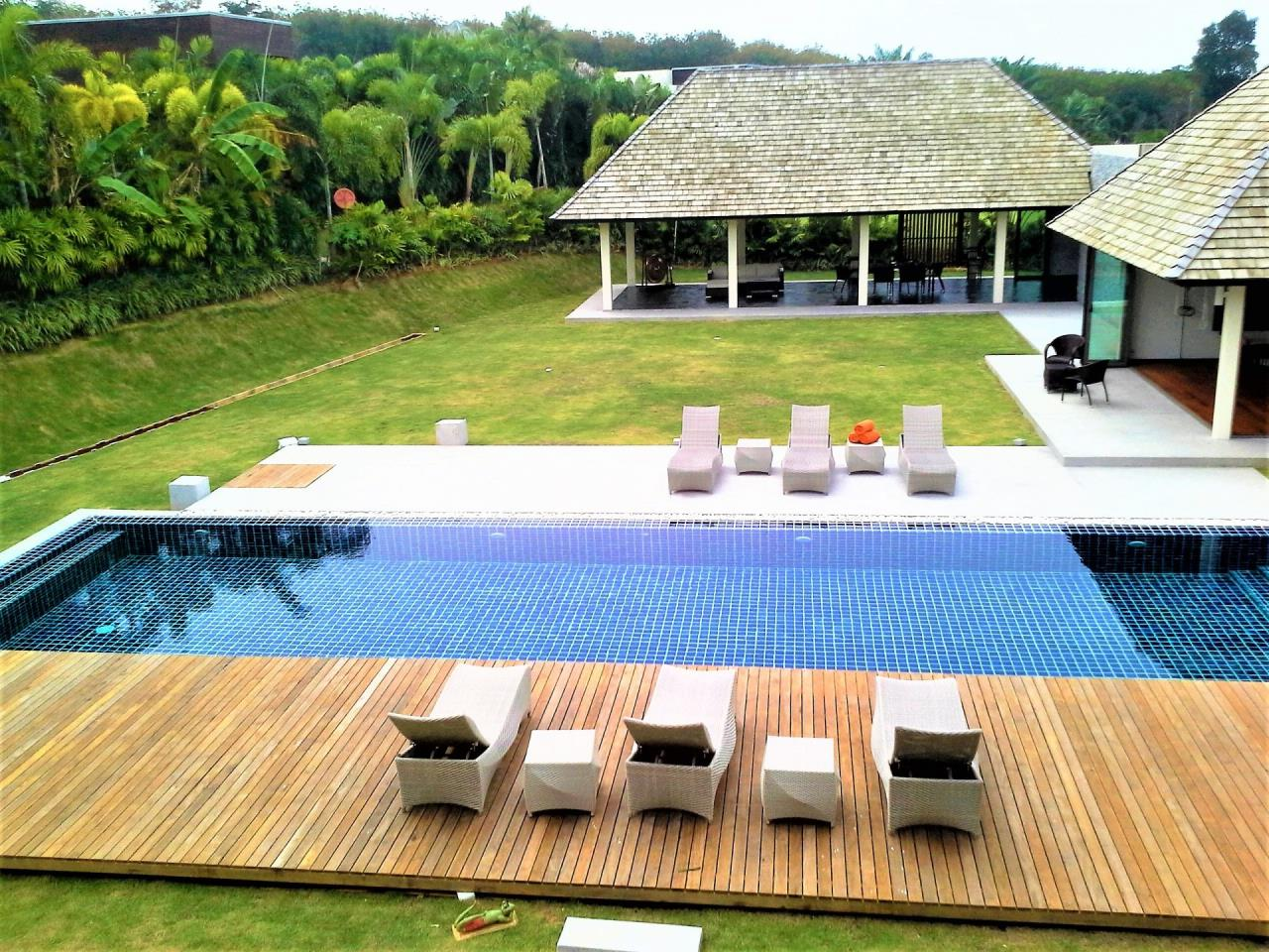 REAL Phuket  Agency's Layan Hills Estate - Superb Modern 5-Bedroom Pool Villa in Cherngtalay 24