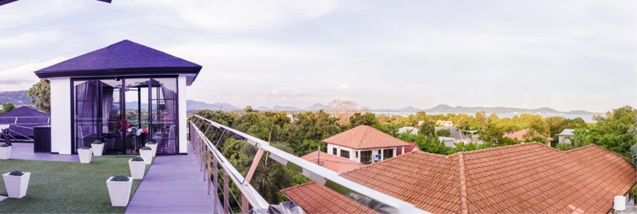 REAL Phuket  Agency's The Club Residence - 7-Bedroom Designer Pool Villa with Sea View Terrace in Saiyuan 2