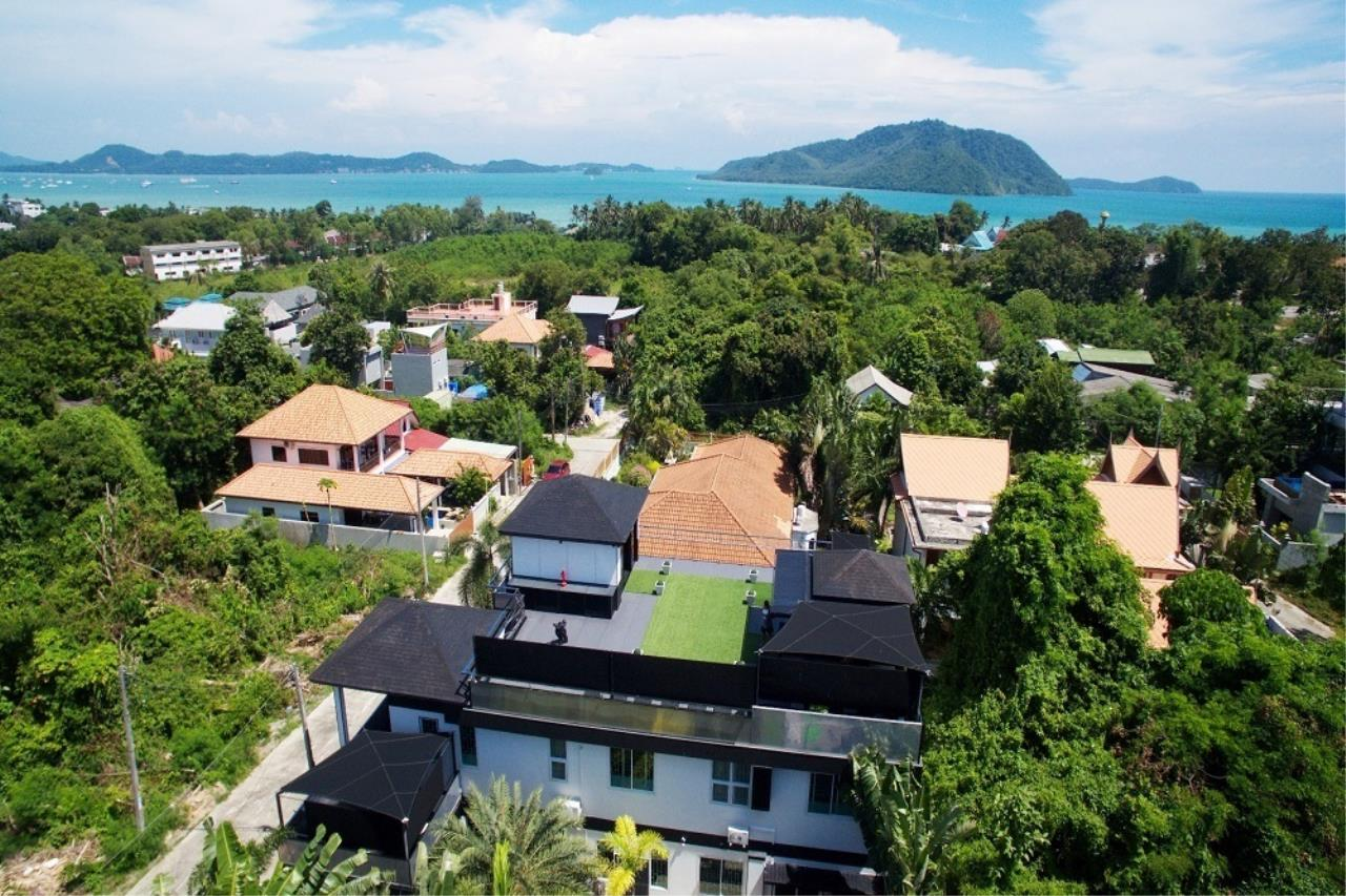 REAL Phuket  Agency's The Club Residence - 7-Bedroom Designer Pool Villa with Sea View Terrace in Saiyuan 3