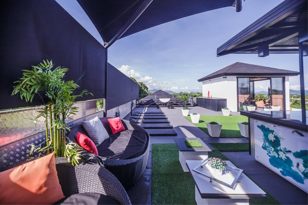 REAL Phuket  Agency's The Club Residence - 7-Bedroom Designer Pool Villa with Sea View Terrace in Saiyuan 9