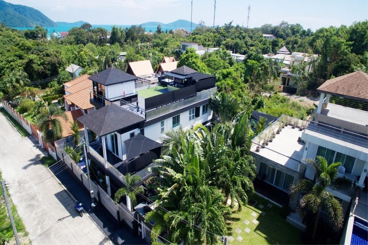 REAL Phuket  Agency's The Club Residence - 7-Bedroom Designer Pool Villa with Sea View Terrace in Saiyuan 4