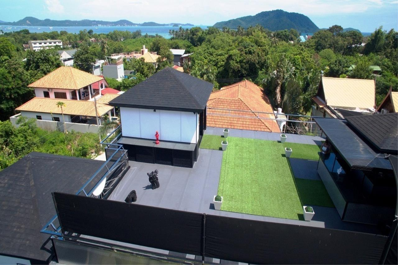 REAL Phuket  Agency's The Club Residence - 7-Bedroom Designer Pool Villa with Sea View Terrace in Saiyuan 5