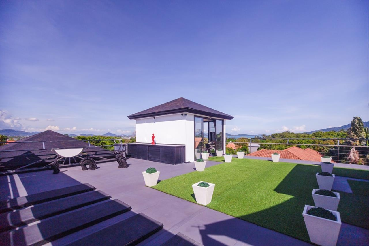 REAL Phuket  Agency's The Club Residence - 7-Bedroom Designer Pool Villa with Sea View Terrace in Saiyuan 6