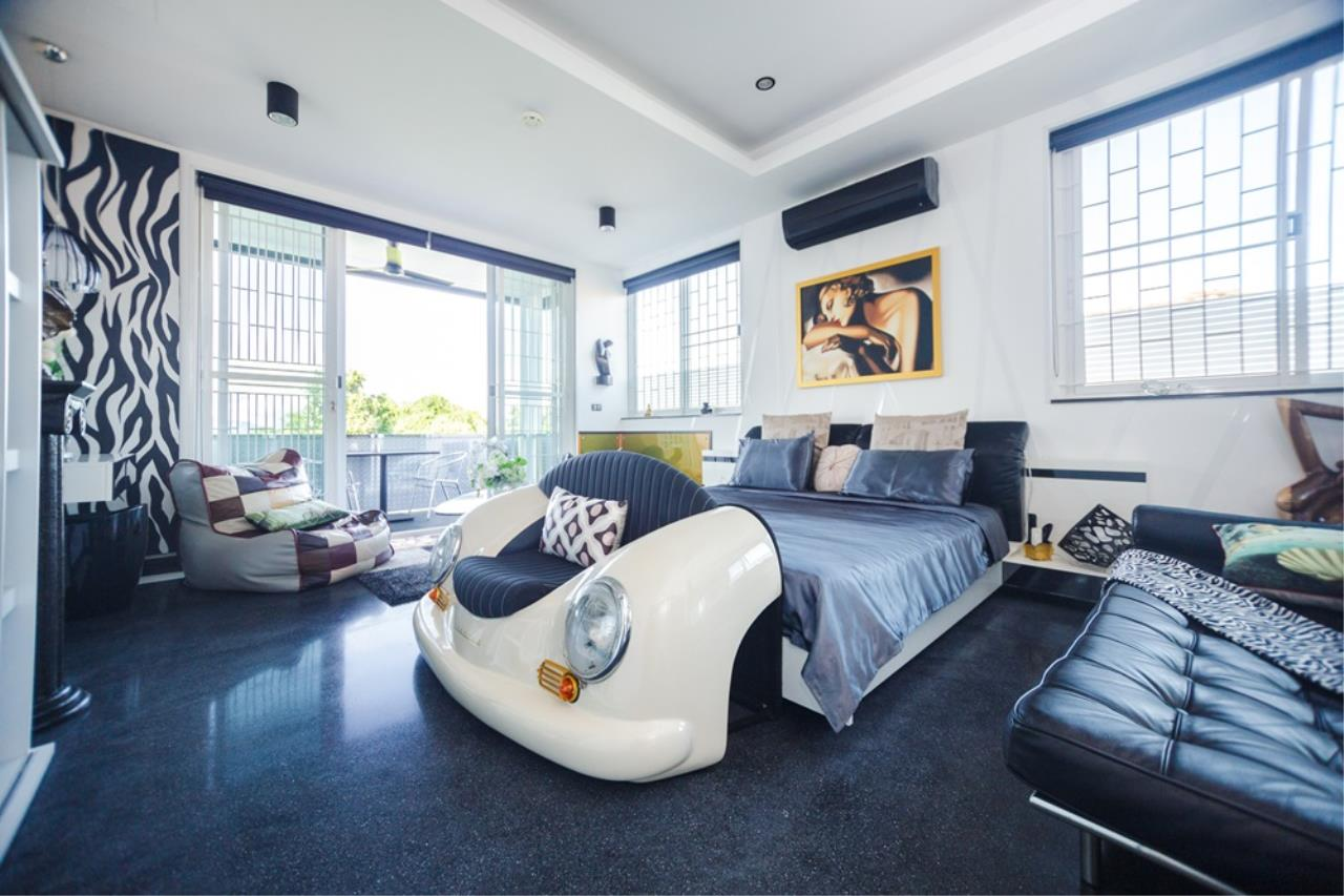 REAL Phuket  Agency's The Club Residence - 7-Bedroom Designer Pool Villa with Sea View Terrace in Saiyuan 11