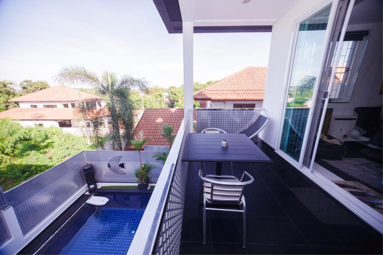 REAL Phuket  Agency's The Club Residence - 7-Bedroom Designer Pool Villa with Sea View Terrace in Saiyuan 14