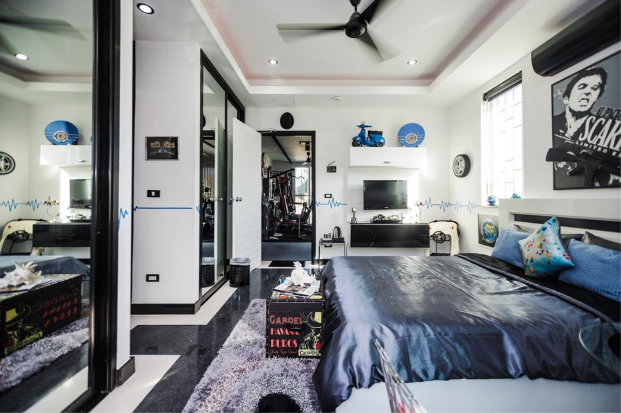REAL Phuket  Agency's The Club Residence - 7-Bedroom Designer Pool Villa with Sea View Terrace in Saiyuan 26